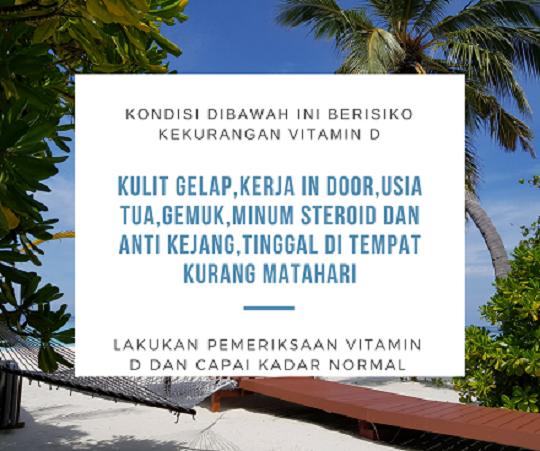 DokterRematikAutoimun.com - Berisiko Kekurangan Vitamin D