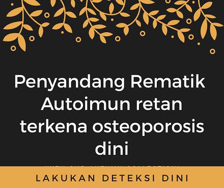 OSTEOPOROSIS DAY 20 oktober 1