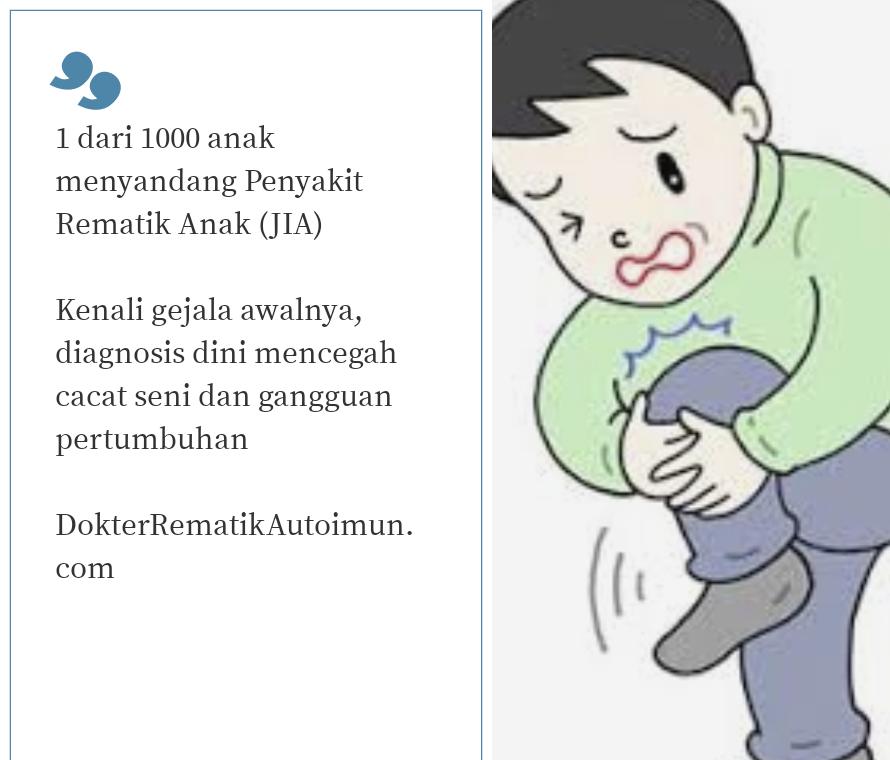 DokterRematik Autoimun.com - JIA Rematik Anak